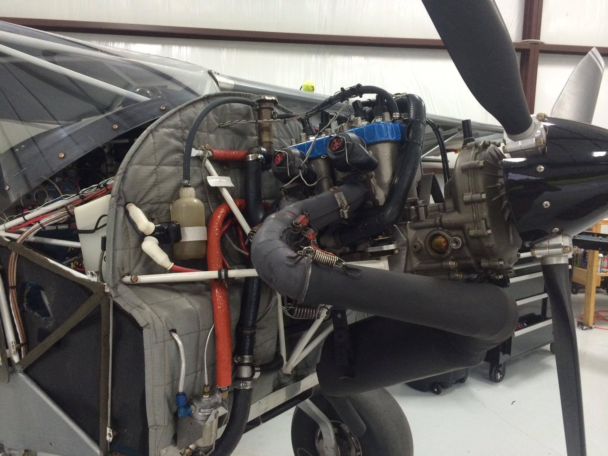 1999 kitfox IV engine change - Technical tasks